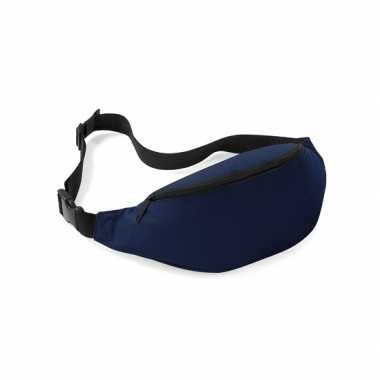 Donkerblauw heuptasje