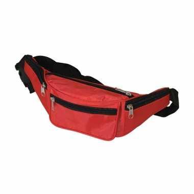 Super voordelige heuptassen in rode kleur